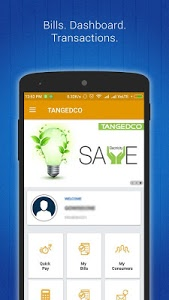 screenshot of TANGEDCO Mobile App (Official) version 1.0.2