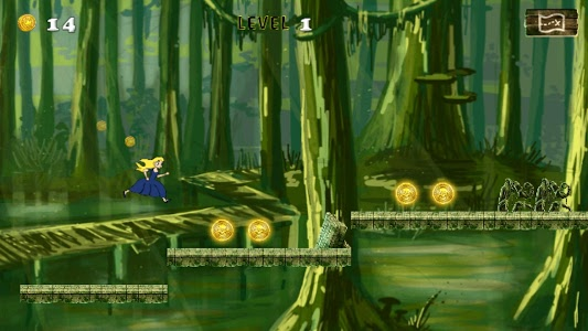 screenshot of Temple Cinderella Runner version 2.2