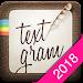 Download Textgram - write on photos  APK