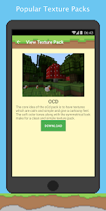 screenshot of Texture Packs for Minecraft version 1.2