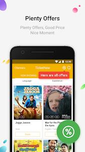 screenshot of TicketNew - Movie Ticket Booking version 4.4.5.1