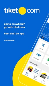 screenshot of tiket.com: Ticket & Hotel version 2.7.2
