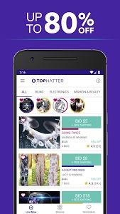Download Tophatter: Shopping Deals, Fun Discounts & Savings  APK