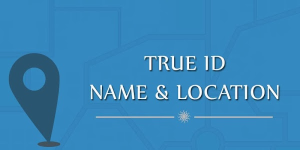 screenshot of True ID Name & Location version 1.4