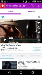 Download Tube video downloader manager 4.3 APK