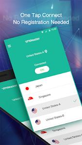 screenshot of VPN Master - Free VPN Proxy version 3.0