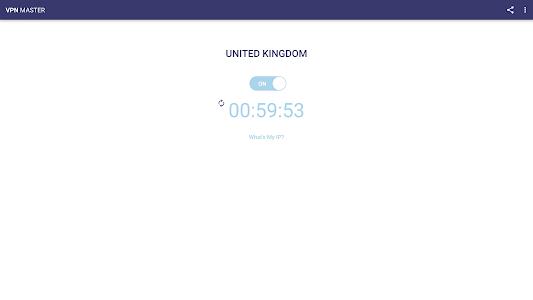 screenshot of VPN Master version 1.2