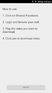 Download Video Downloader for Facebook 2.3.3 APK