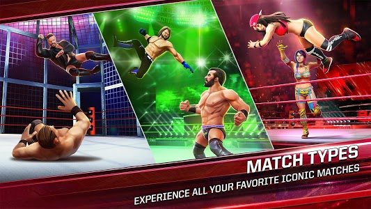 screenshot of WWE Mayhem version 1.17.215