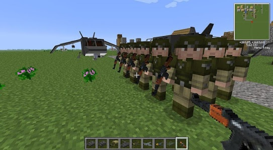 Download War Mods For McPE 1.0 APK