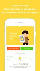 screenshot of WeCash Partner - Pinjaman Uang Hasilkan Uang version 1.0.0.072414