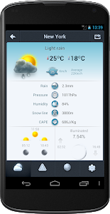 screenshot of Weather 14 days version 3.1.3.2