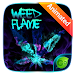 Download Weed Flame GO Keyboard Animated Theme 4.5 APK