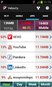 screenshot of WiFi | Mobile Network Speed version 1.1.4