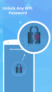 screenshot of Wifi Password Hacker Fake App version 3.0