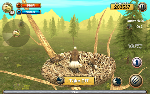 Download Wild Eagle Sim 3D 2.0 APK