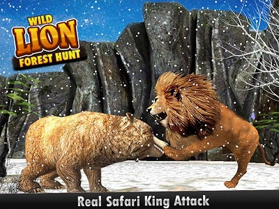 Download Wild Lion Forest Hunt  APK