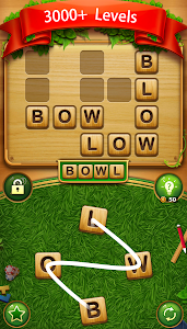 screenshot of Word Cross Connect : English CrossWord Search Game version 4.4
