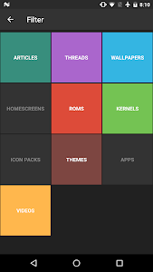 screenshot of XDA Feed - Customize Your Android version 0.31