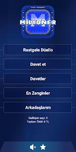 screenshot of Yeni Milyoner 2019 version 2.5.35