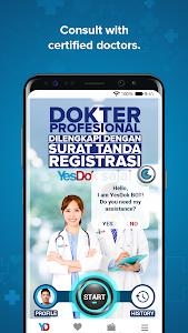 screenshot of YesDok - 24 Hr Doctor On Demand version 7.2.9