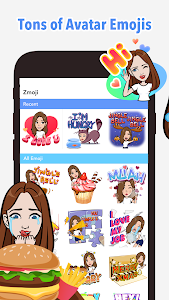 screenshot of Your Personal Avatar Maker | Zmoji version 1.0.7