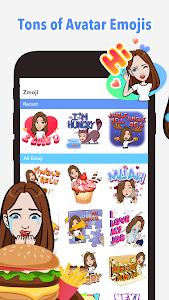 screenshot of Your Personal Avatar Maker | Zmoji version 1.0.6