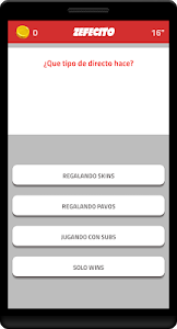 screenshot of ZEFECITO Juego de Trivia version 6.0