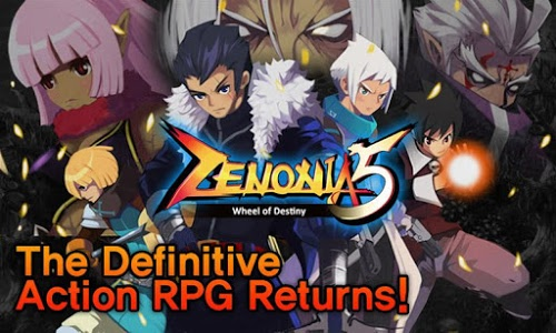 screenshot of ZENONIA® 5 version 1.2.7