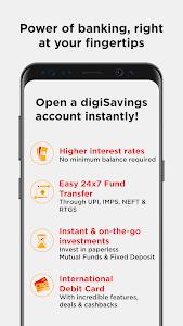 screenshot of digibank by DBS version 2.6.3