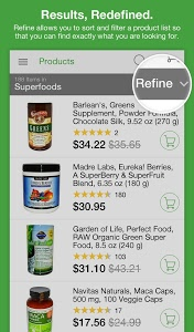 screenshot of iHerb version 5.1.22 R