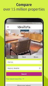 screenshot of idealista version 8.0.12