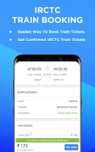 screenshot of IRCTC Train PNR Status,Indian Rail Running Status version 4.2.0