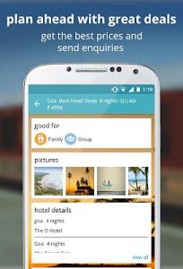 screenshot of indian rail train PNR & hotels version 2.9.9